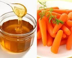 Làm đẹp bằng mật ong cà rốt
