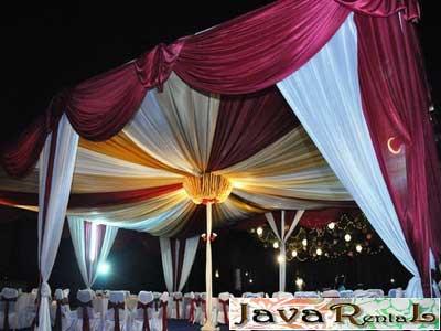 Rental Tenda Dekorasi - Murah