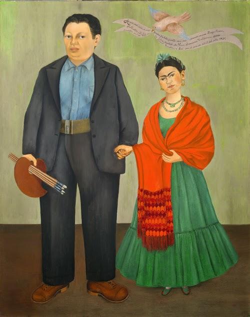 Frida Kahlo e Diego Rivera - Frida Kahlo e suas pinturas ~ Pintora comunista e revolucionária