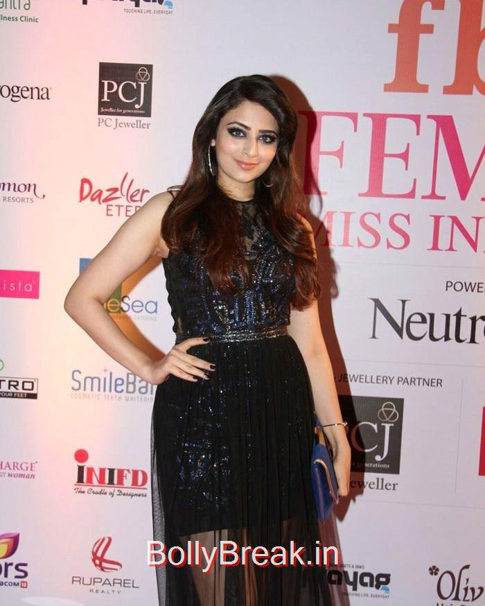 Zoya Afroz, Grand Finale of Femina Miss India 2015 Photo Gallery