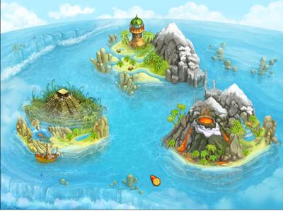 島嶼部落2(Island Tribe2),非常獨特的模擬經營養成!