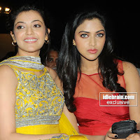 Kajal agarwal and amala paul hot in nayak latest stills
