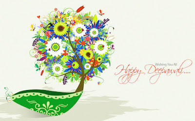 Happy deepavali HD Wallpaper Download