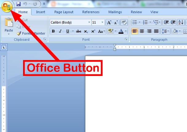 Cara Merubah Ruler Microsoft Word dari Inch ke Cm