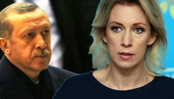 Έκτακτη είδηση, στα άκρα η σύγκρουση, Ρωσίας-Τουρκίας, η Μαρία Ζαχάροβα, αποκάλεσε εμμέσως πριν λίγο τον Ερντογάν ψυχοπαθή!