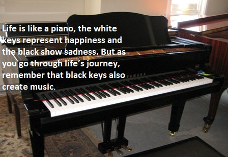 Life Is Like A Piano Music Quotes English Sms Quotes