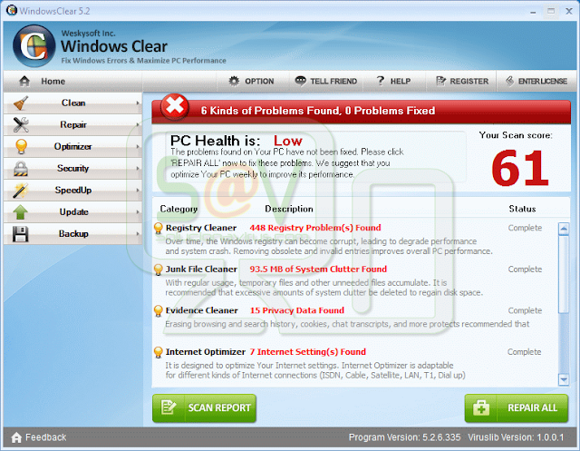 Windows Clear (Falso optimizador)