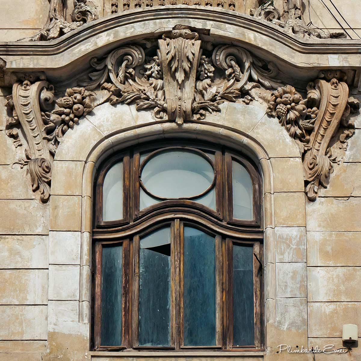 Constanța arhitectura fereastra Art Nouveau