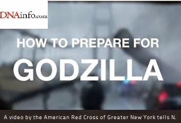 American Red Cross Greater New York Blog: Preparing for Godzilla