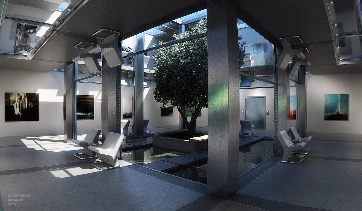 VGTAL3DESIGN: Underground patio gallery