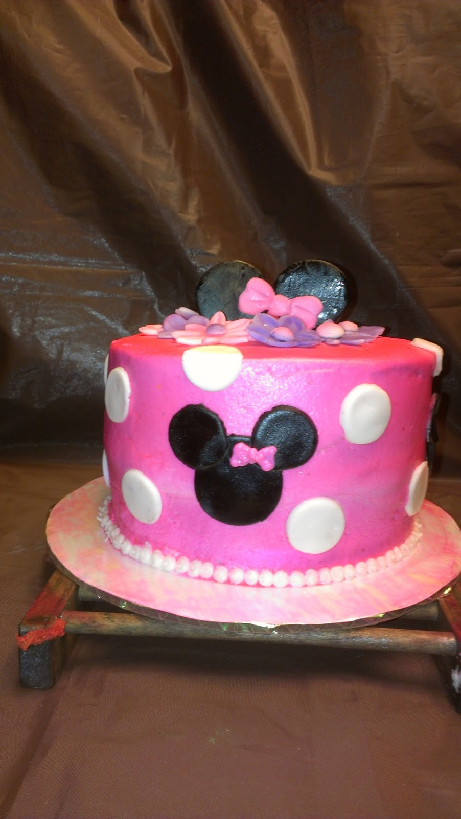 Tasty Pastry Cakes And More Minnie Mouse