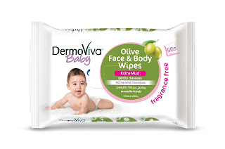 DermoViva Baby_Olive Face & Body Wipes