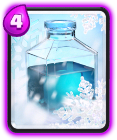 Carta Gelo de Clash Royale - Cards Wiki