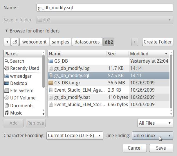 TEK PERSPEKTIVE: Restore Cognos Sample Data in DB2 9 7 on