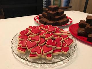 mini sugar cookie hearts