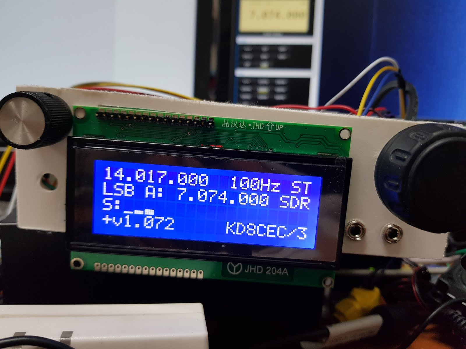 Using HDSDR with HF Transceiver (Modified - Add Videos) (Examples of