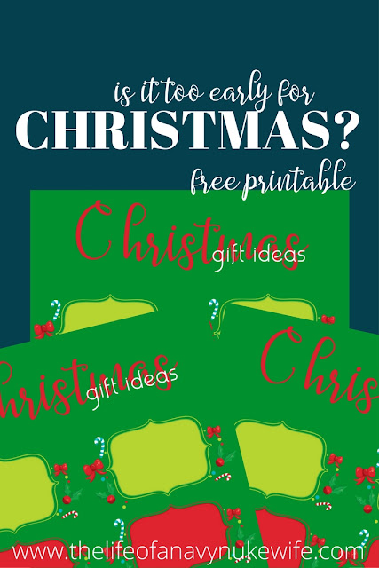 New Christmas Ideas Printable