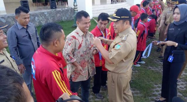 Atlet NPC Tagih Janji Bupati OI