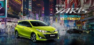 Spesifikasi dan Harga Toyota Yaris 2018