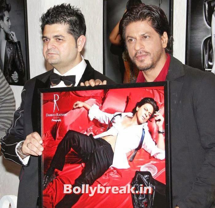 Dabboo Ratnani, Shahrukh Khan, Dabboo Ratnani's 2014 Calendar Launch Pics