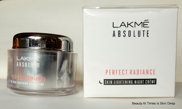 Lakme Perfect Radiance Night Cream