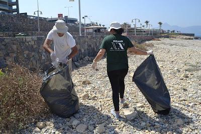 ΝΕΑ ΑΚΡΟΠΟΛΗ - Ηράκλειο: Παγκόσμια Ημέρα εθελοντικού καθαρισμού ακτών