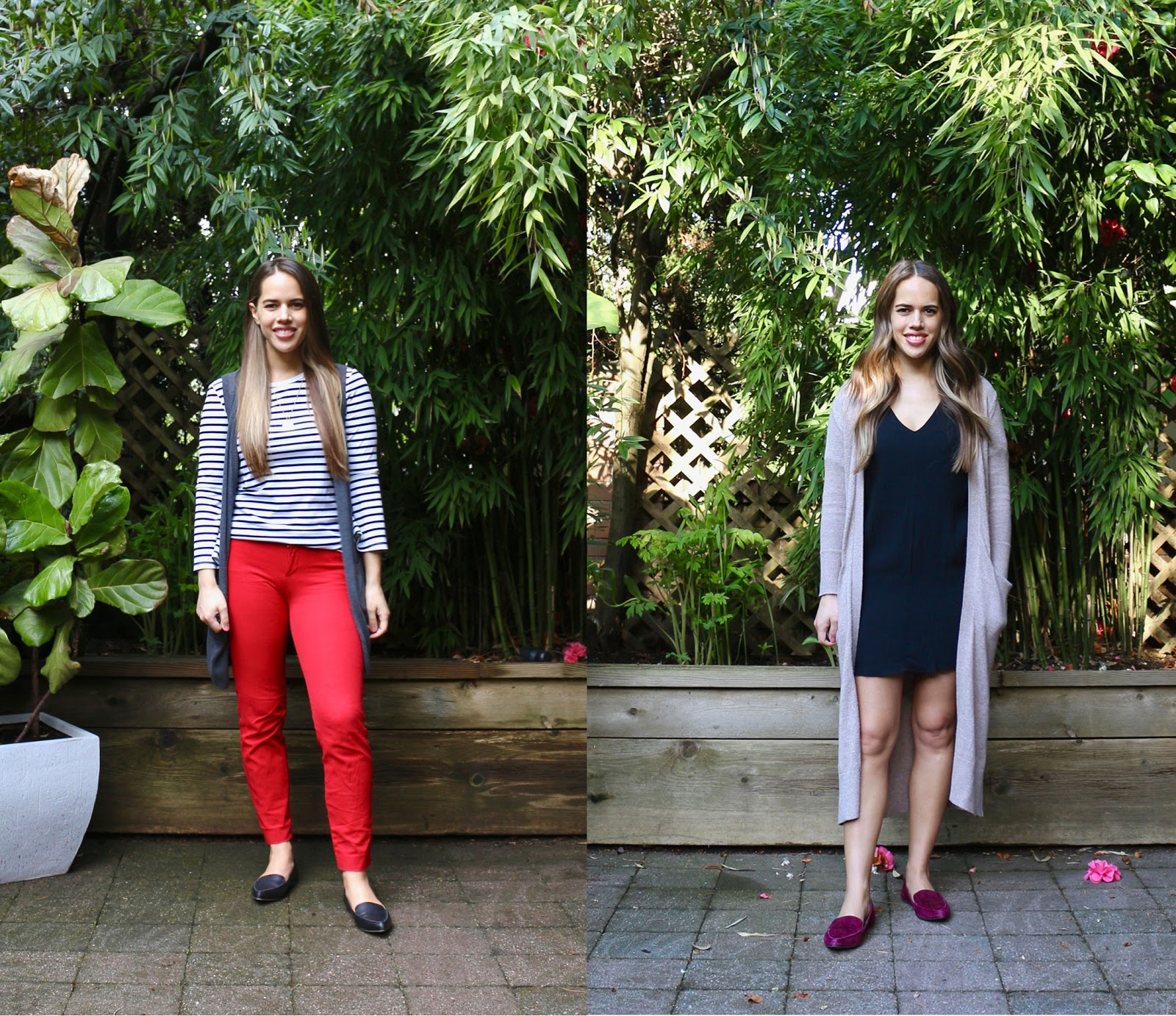 Jules in Flats April Outfits (Business Casual Spring Workwear on a Budget)
