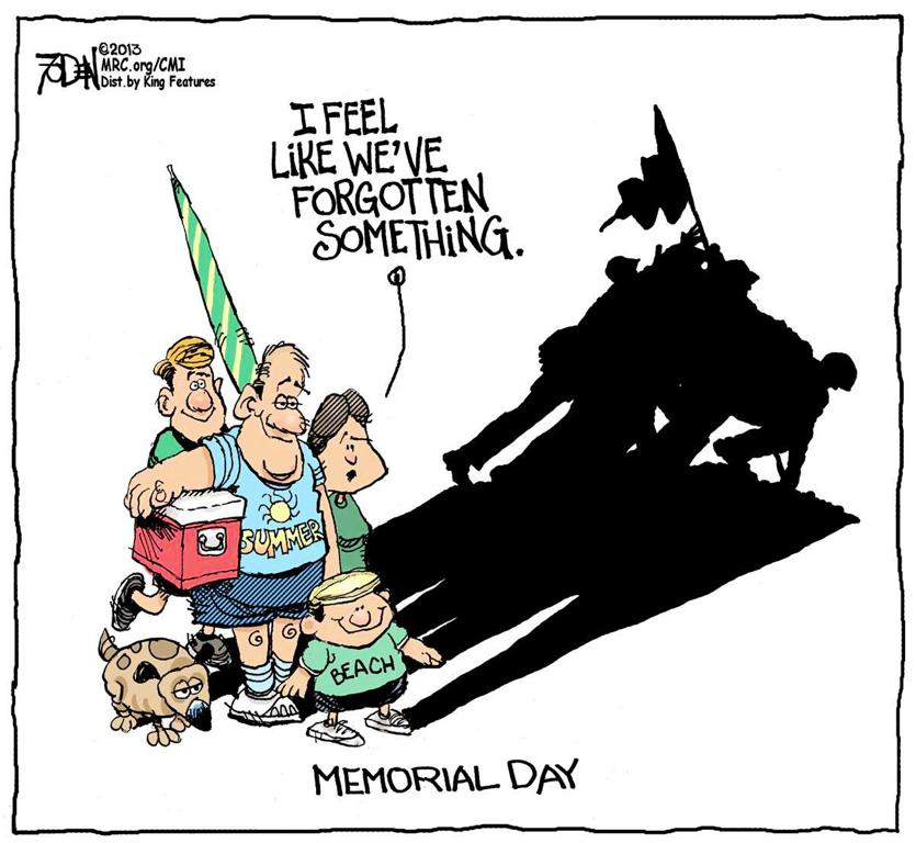 Image result for memorial day cartoon