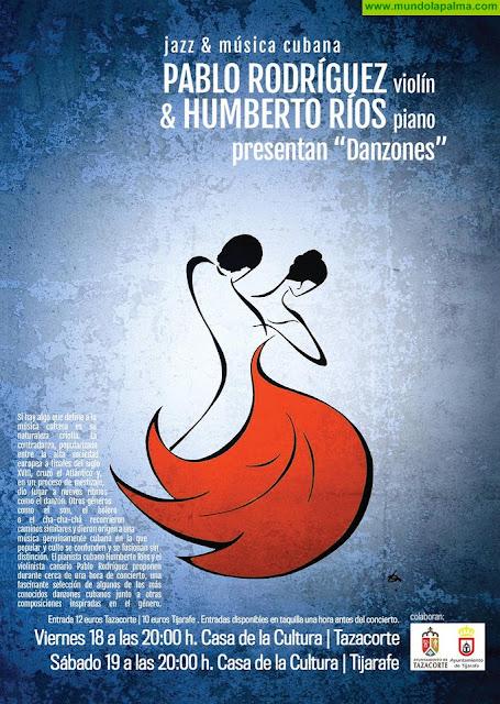 """Tijarafe acoge este sábado """"Danzones. Música cubana y jazz"""""""