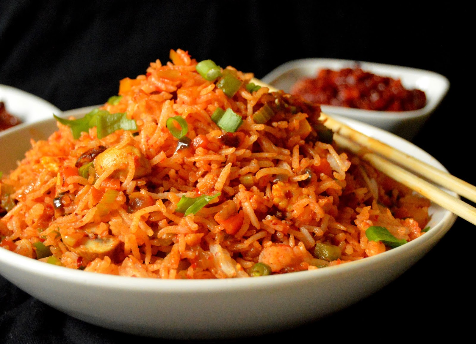 Pavi's Platter: Schezwan Fried Rice