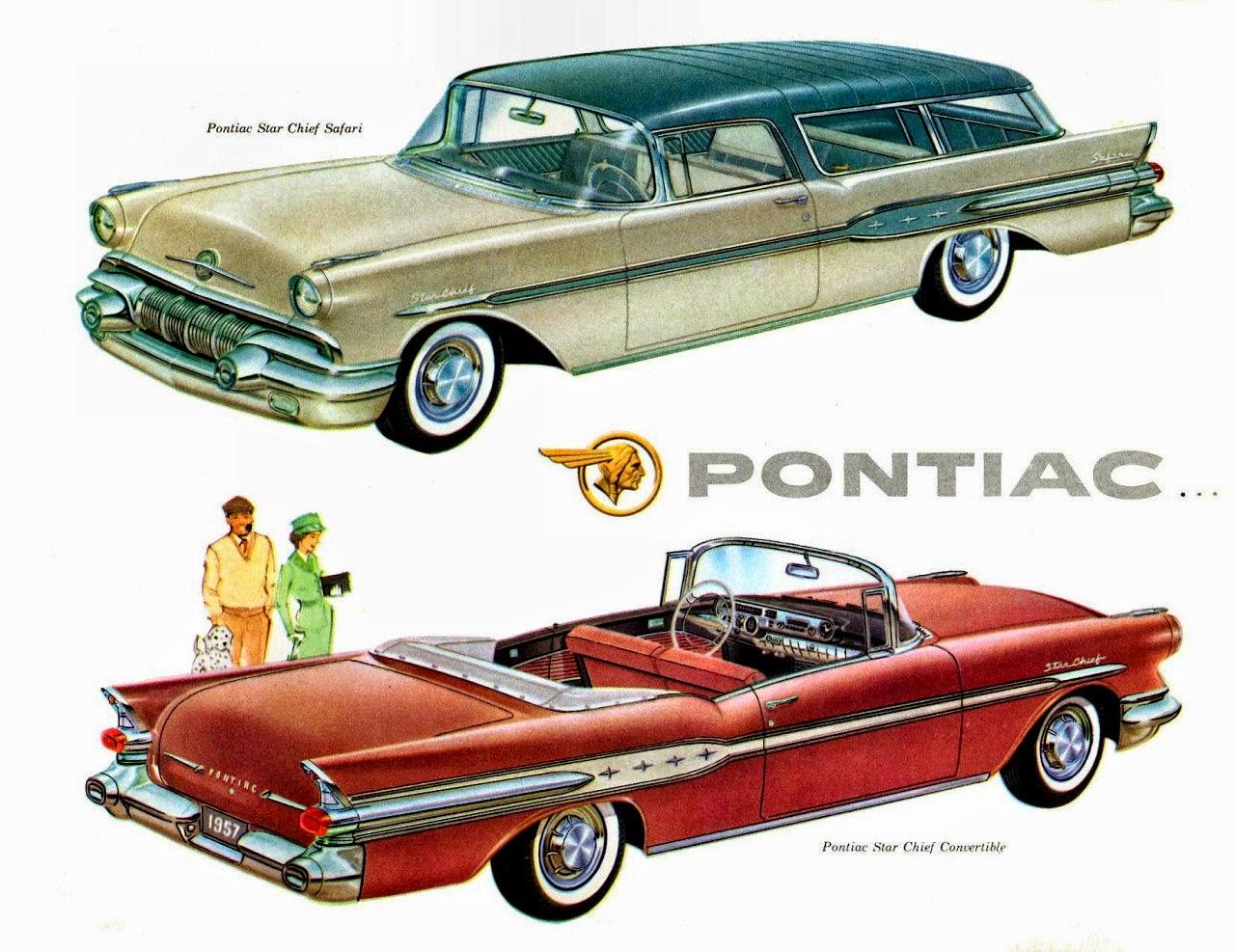 1957 Pontiac Star Chief Vintage Cars Ads 1960