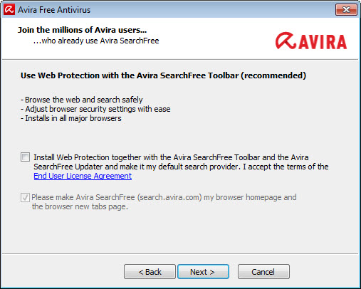 avira toolbar