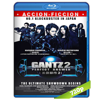 Gantz Perfect Answer (2011) BRRip 720p Audio Dual Castellano-Japones 5.1