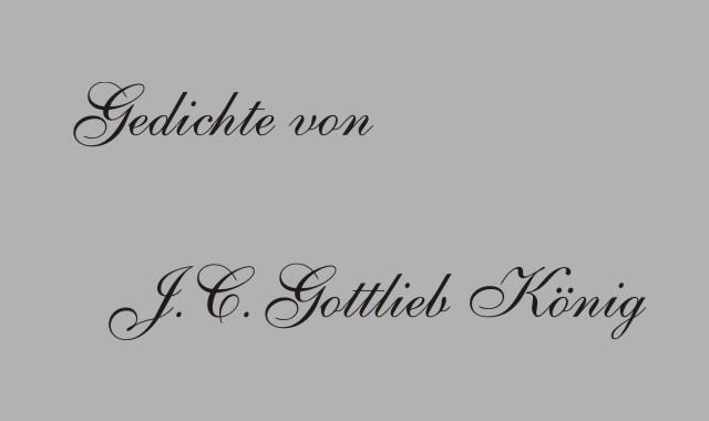Justus Christian Gottlieb König