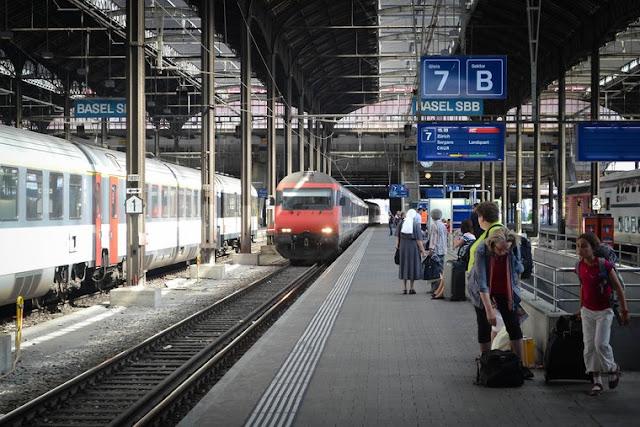 Check in e dicas para a viagem de trem na Suíça