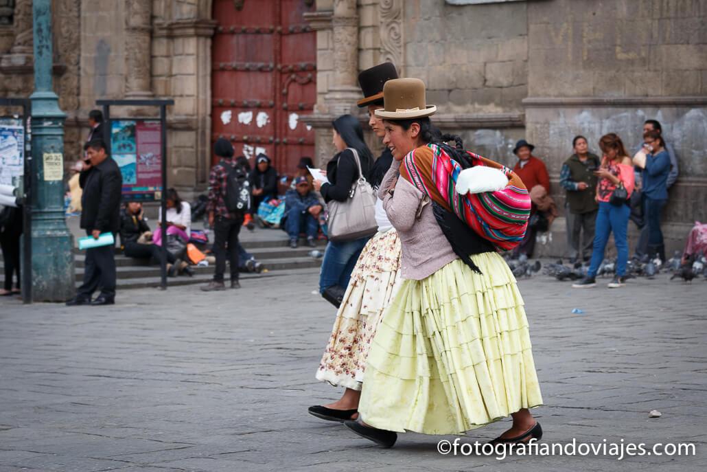 Cholas en La Paz