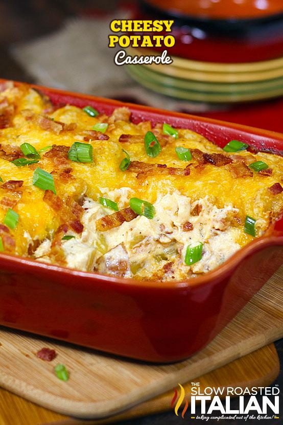 Cheesy Potato Casserole Recipe Video