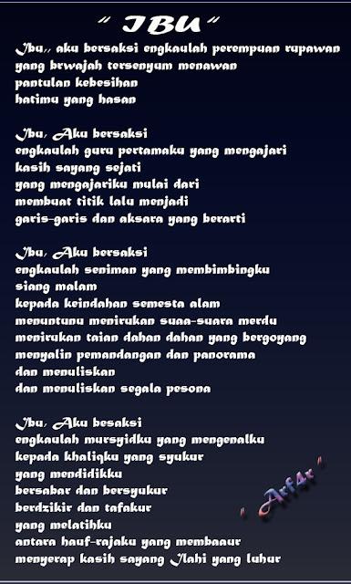 Puisi Terbaru Untuk Ibu Tercinta