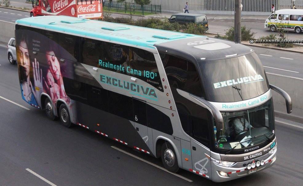 Horario salida y tarifas de los autobuses de Lima a Arequipa