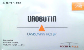 Urobutin 5mg Tablet