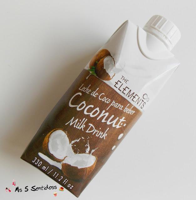 The Elements leche de coco