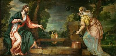 """Cristo e a mulher samaritana no poço"" (circa 1585). Pintura de Paolo Veronese (1528-1588) exposta no Kunsthistorisches Museum em Viena, na Áustria."