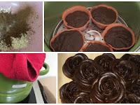 Brownies Nutrijell Coklat kukus (No Mixer n Simple) Anti Gagal