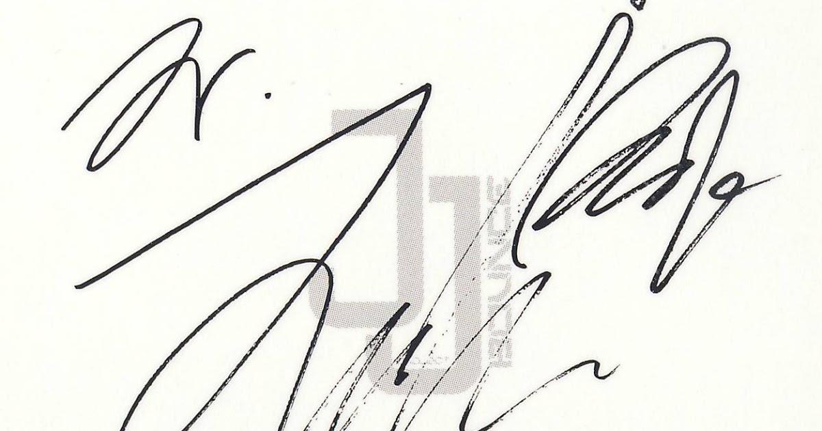 kpop scans: JB ( jj project GOT7 ) photo card + autograph