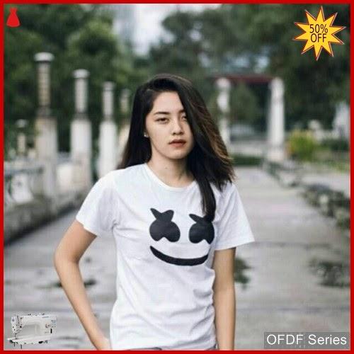 OFDF056 Atasan Kaos Marsmellow Smile Tee 255 BMGShop