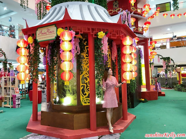 Oriental Sanctuary in Spring, Main Place Mall, CNY 2019, Chinese New Year, Shopping Mall decoration, Malaysia Shopping Mall, Malaysia Shopping Mall Decoration, Malaysia Shopping Mall Chinese New Year CMY Decoration, lifestyle