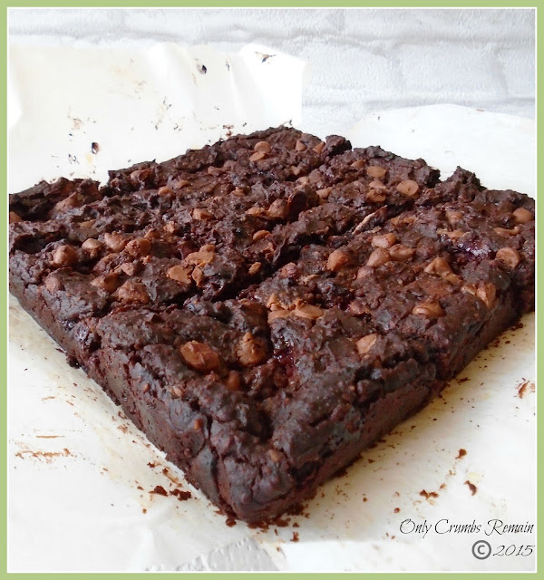 Blackberry & Blackbean Brownies