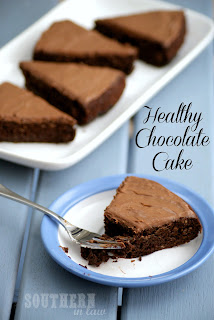 Gluten Free Healthy Chocolate Cake Recipe