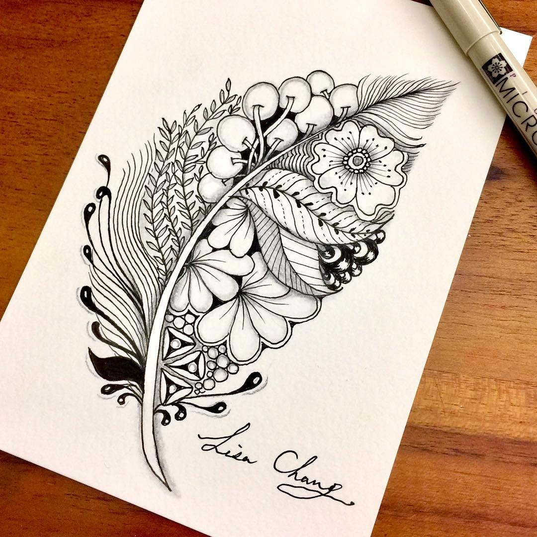 06-Lisa-Chang-Hand-Drawn-Zentangle-Doodle-Drawings-www-designstack-co