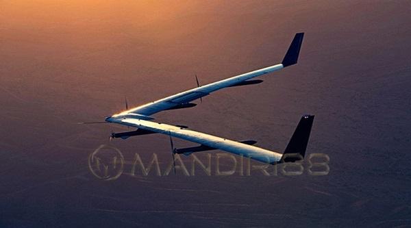Drone Milik Facebook Sukses Mendarat Saat Uji Coba Terbang Kedua